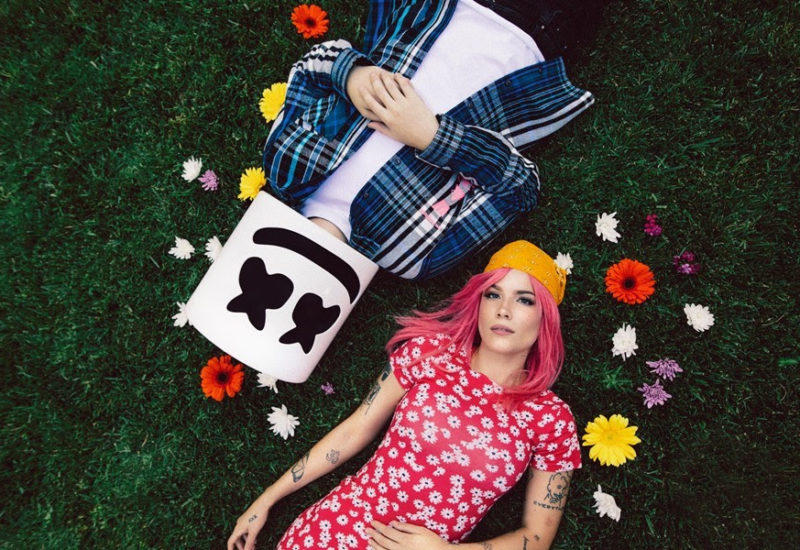 """Marshmello and Halsey premiere """"Be Kind"""""""