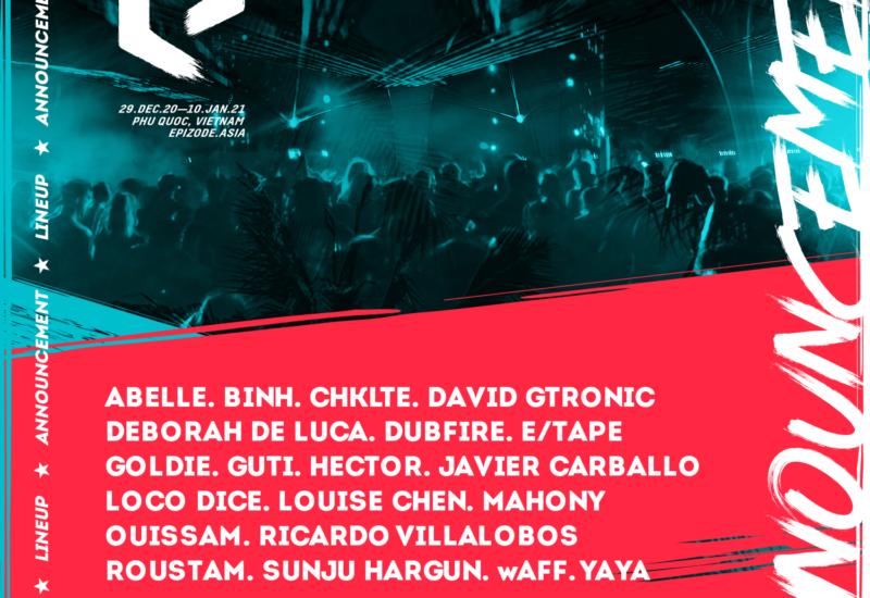 EPIZODE5 EPILOGUE festival reveals phase-one lineup