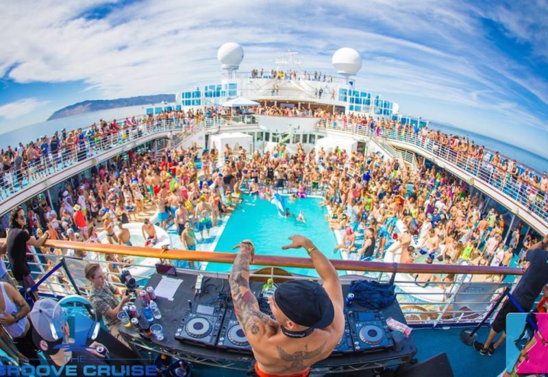 Groove Cruise Virtual Sail Aways Live