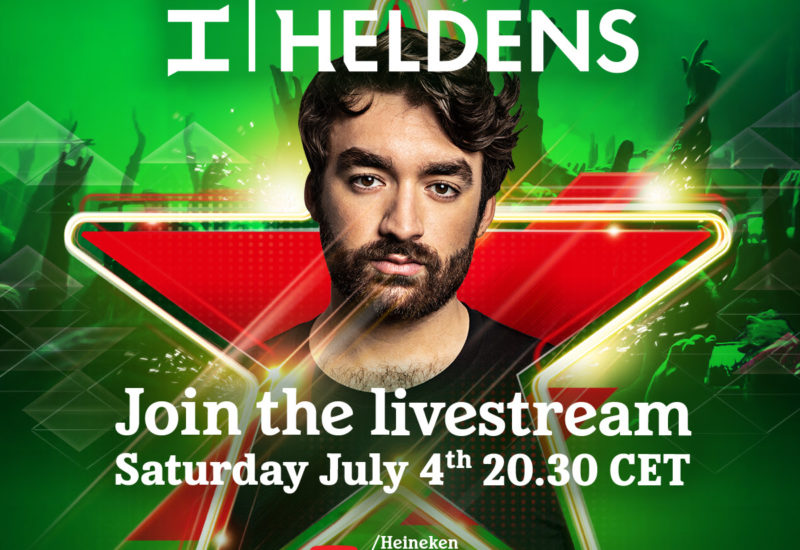 Oliver Heldens announces live stream event July 4
