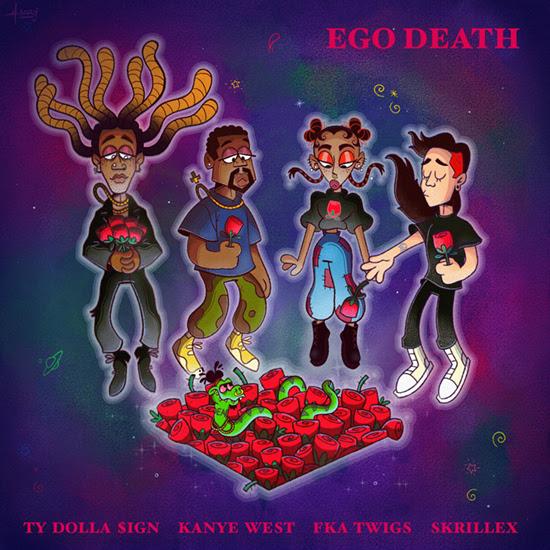 Ty Dolla $ign - Ego Death ft. Kanye West, Skrillex, FKA twigs