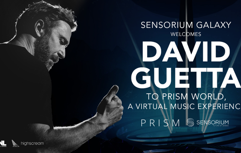 David Guetta announces VR performance series for Sensorium Galaxy