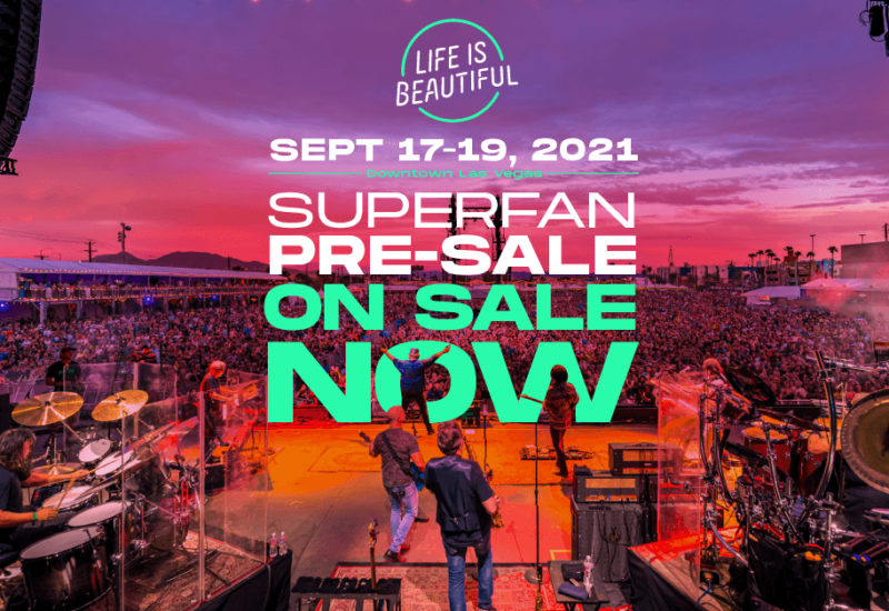 Life Is Beautiful 2021 announces dates