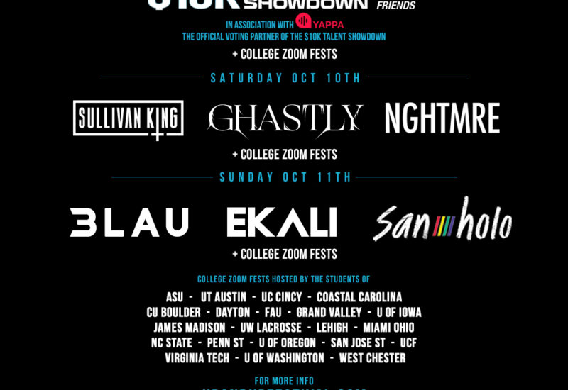 Monster Energy Up & Up Festival 2020 lineup