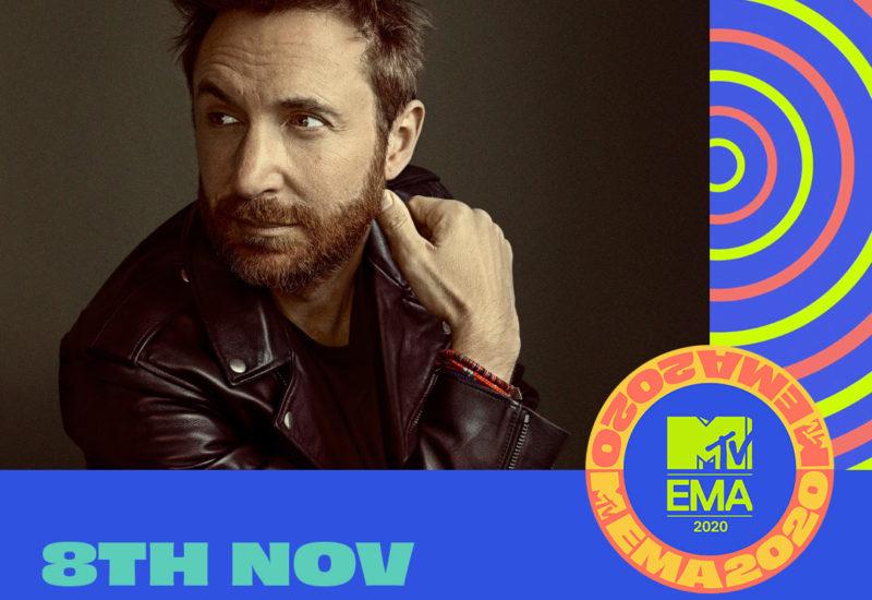 2020 MTV EMAs announce David Guetta