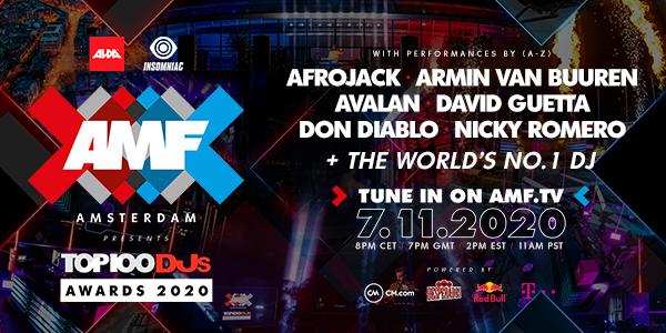 Amsterdam Music Festival 2020 lineup