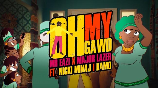 Major Lazer - Oh My Gawd music video