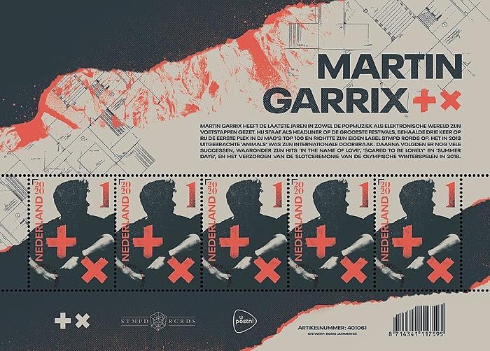 Martin Garrix stamp