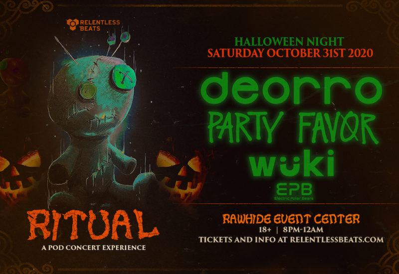 Relentless Beats reveal Ritual Halloween Events