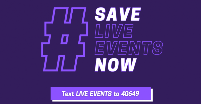 Save Live Events Now coalition