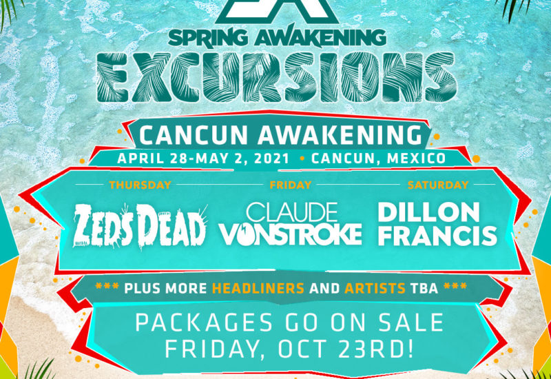 Spring Awakening Cancun 2021 Headliners