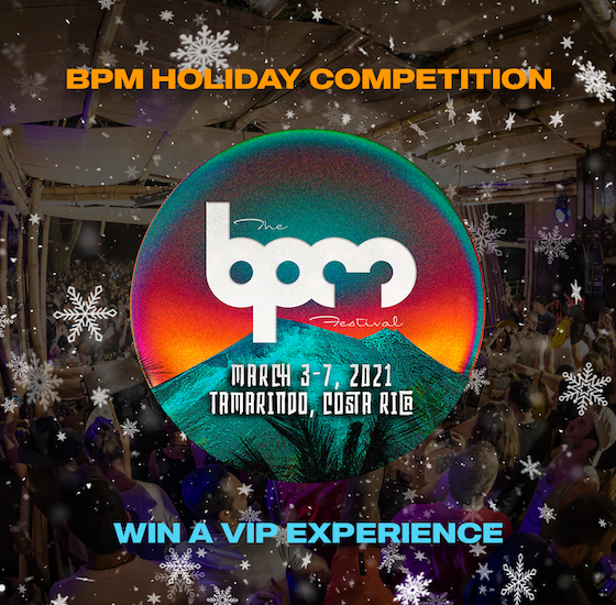 BPM Festival Holiday Competition