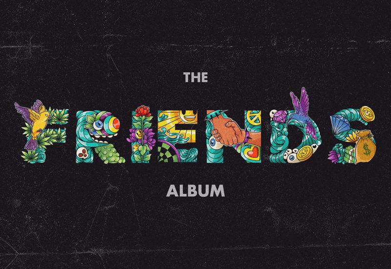 Bear Grillz - Friends The Album