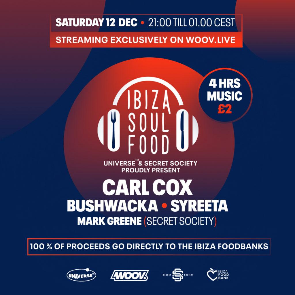 Carl Cox - Ibiza Soul Food
