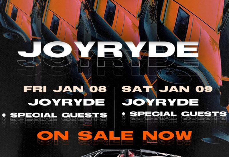 HARD Events x JOYRYDE Park N Rave
