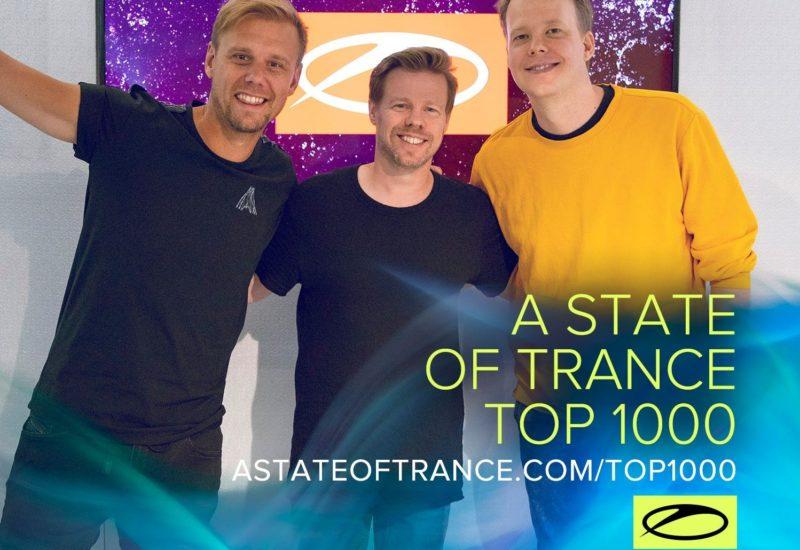 Armin van Buuren reveals A State Of Trance Top 1000