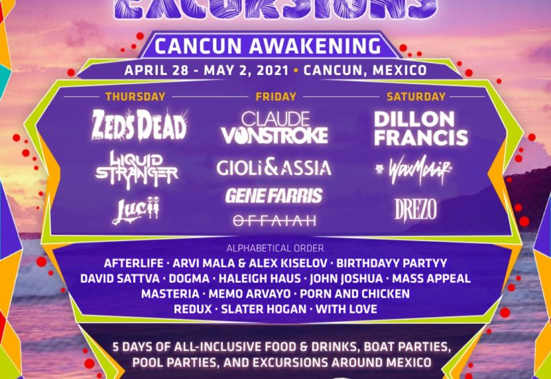 Spring Awakening Cancun 2021 phase-two lineup
