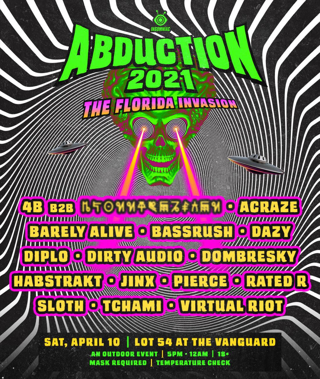 Abduction flyer
