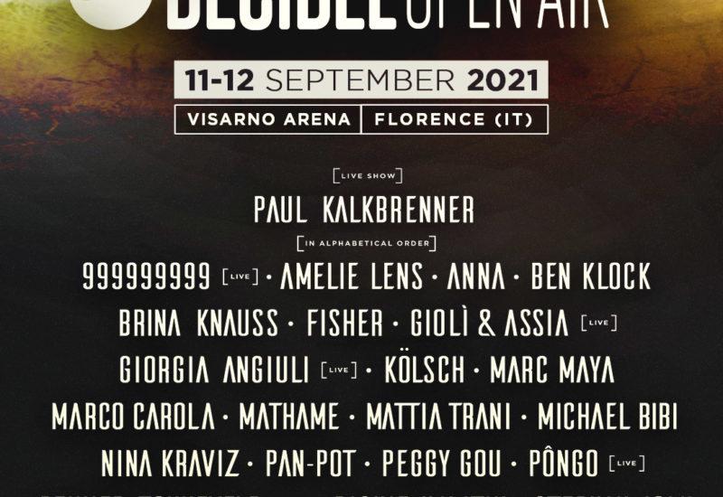 Decibel Open Air 2021 lineup