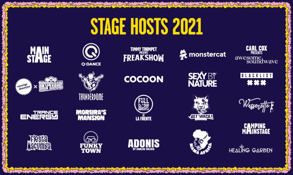 Mysteryland 2021 Stage Hosts