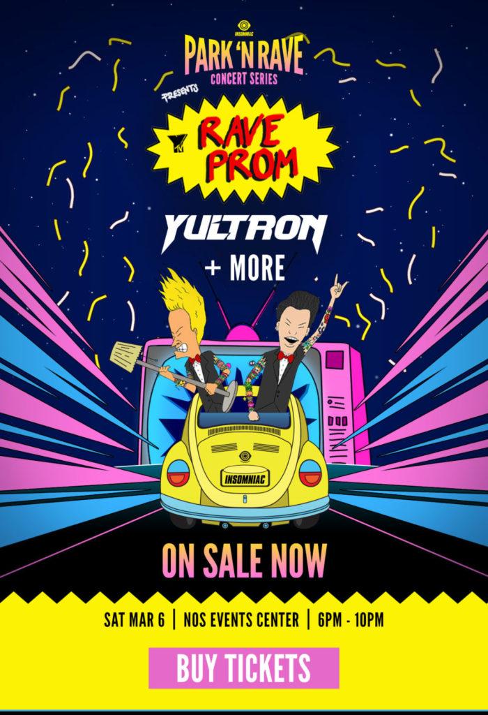 Yultron Rave Prom Park N Rave