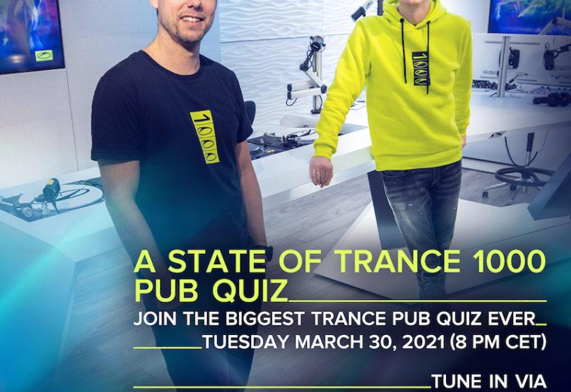 Armin van Buuren - A State Of Trance - Pub Quiz