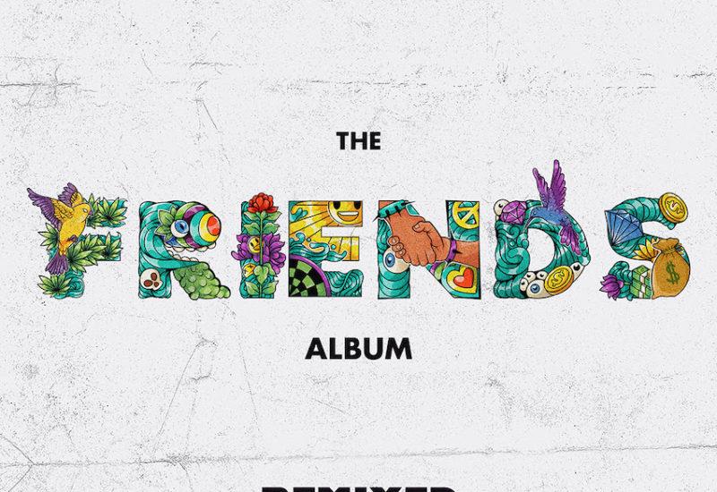 Bear Grillz - Friends Remixed EP