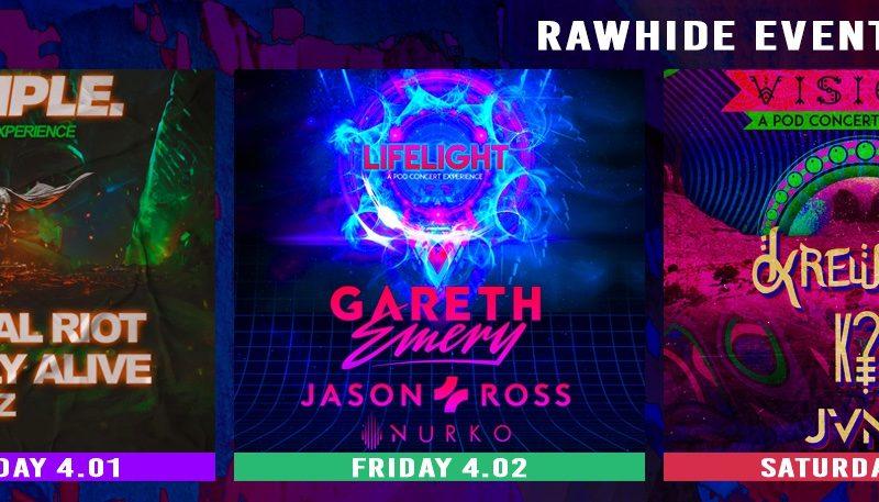 Virtual Riot, Gareth Emery & Krewella headline Spring concert series