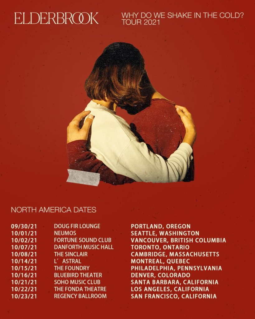 Elderbrook - 2021 North American Tour