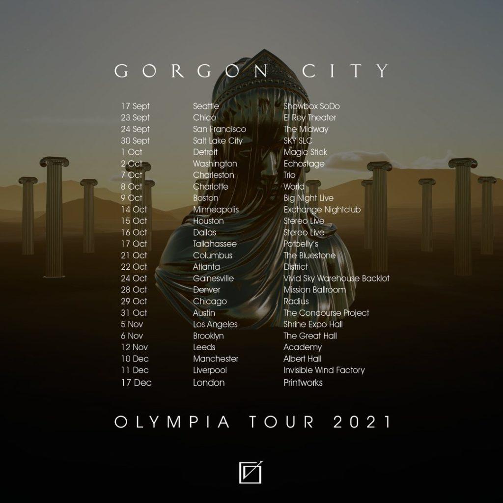 Gorgon City - Olympia Tour 2021