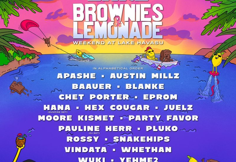 Lake Brownies & Lemonade Lineup