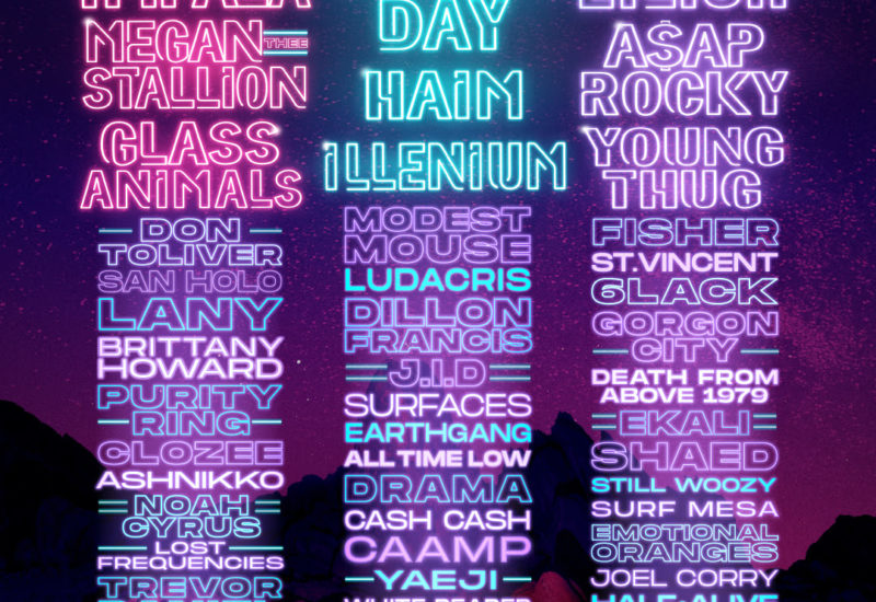 Life Is Beautiful 2021 reveals its daily lineups
