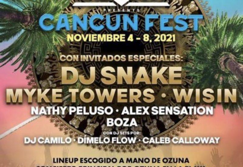 Ozuna Cancun Fest 2021