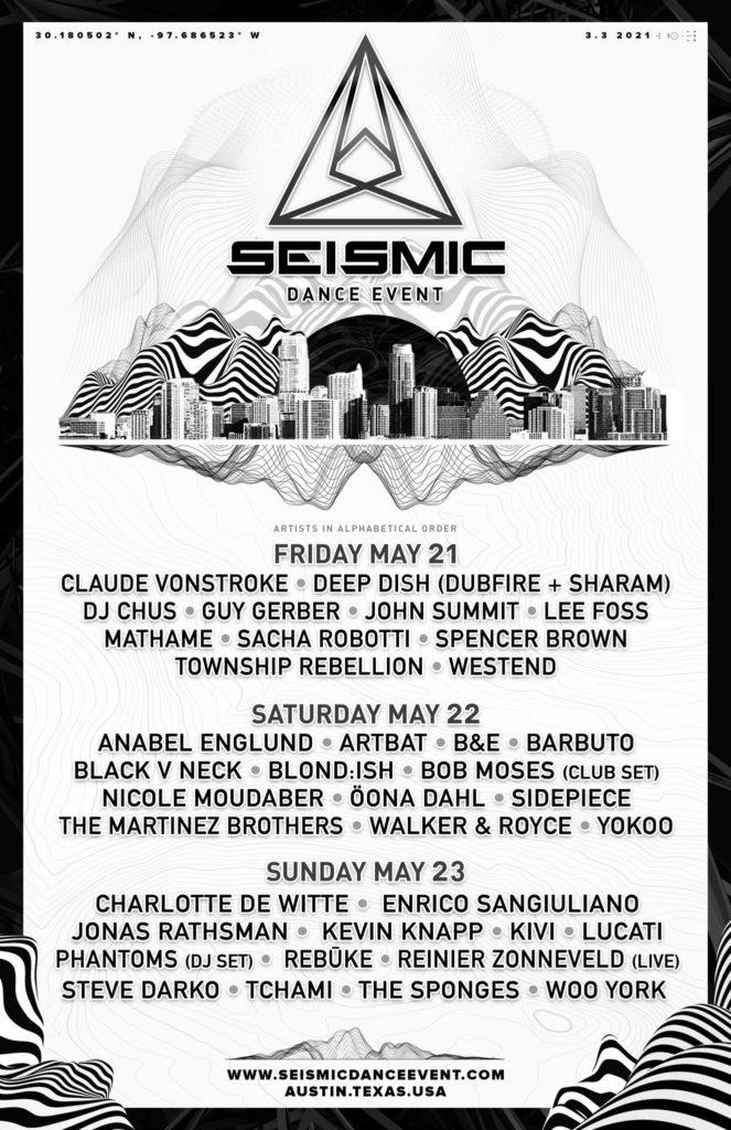 Seismic Dance Event 2021