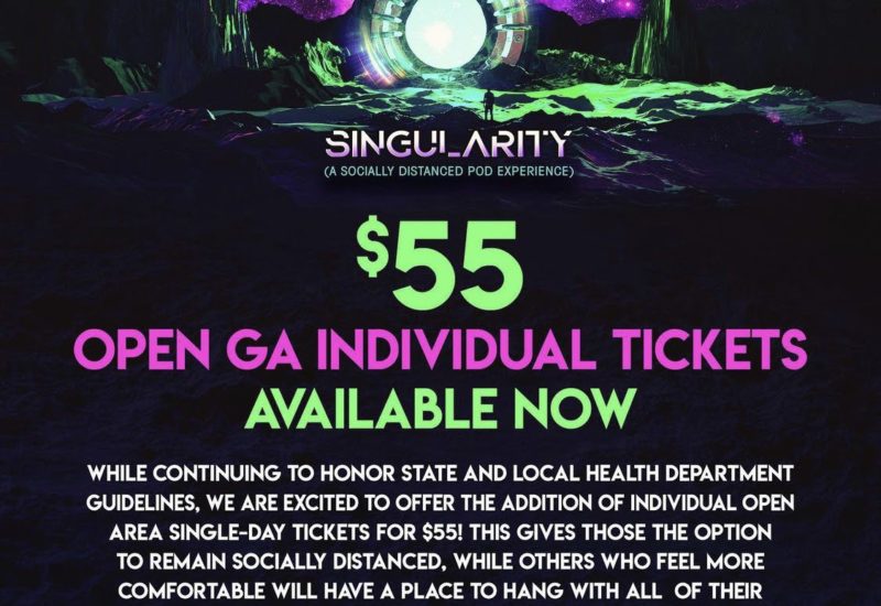 Singularity 2021 releases GA tickets