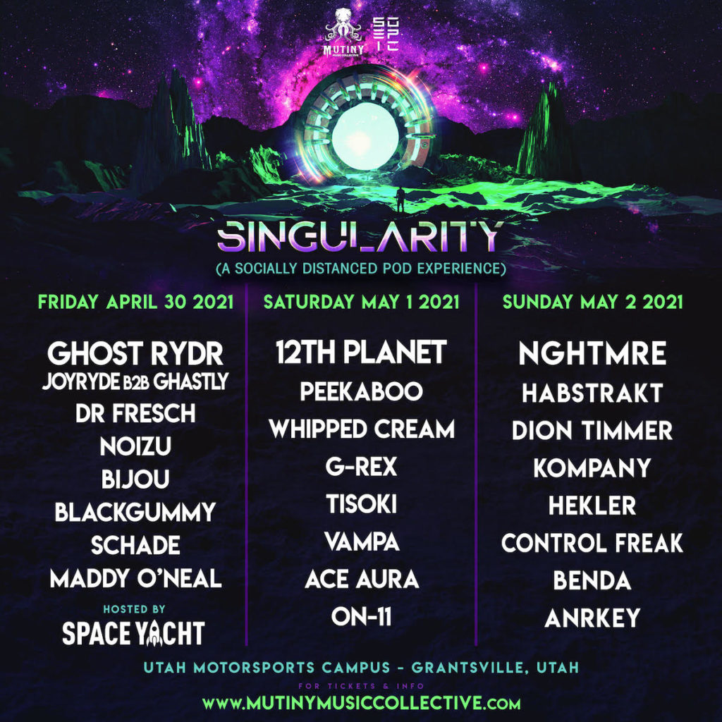 Singularity - GHOST RYDR, 12th Planet & NGHTMRE