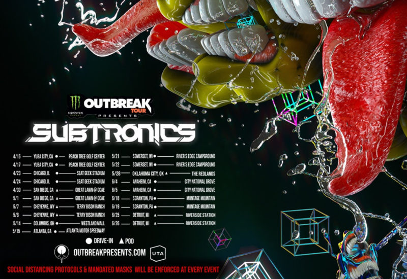Subtronics - Monster Energy Outbreak Tour