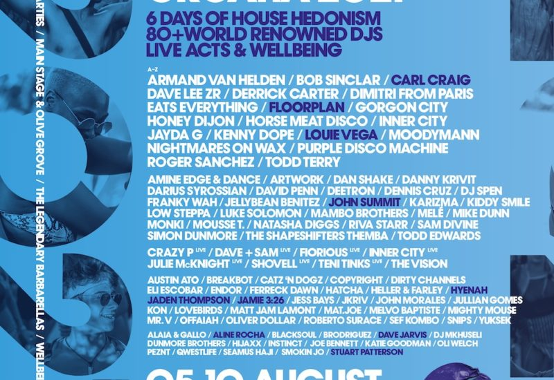 Defected Croatia 2021 lineup