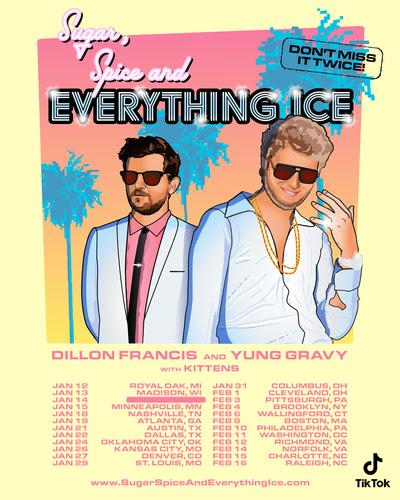 Dillon Francis & Yung Gravy 2022 Tour