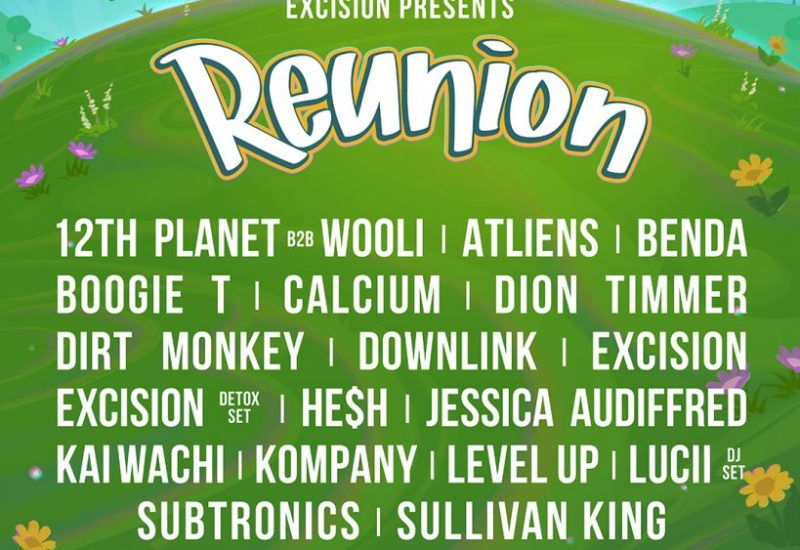 Excision - Reunion 2021 lineup