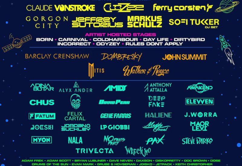 Groove Cruise 2022 Lineup