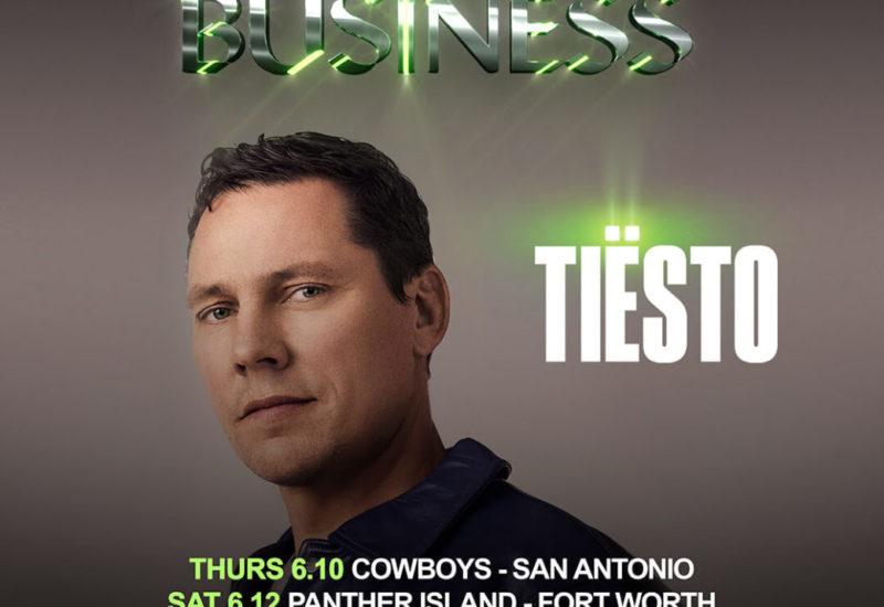 Tiesto - Back To Business Tour