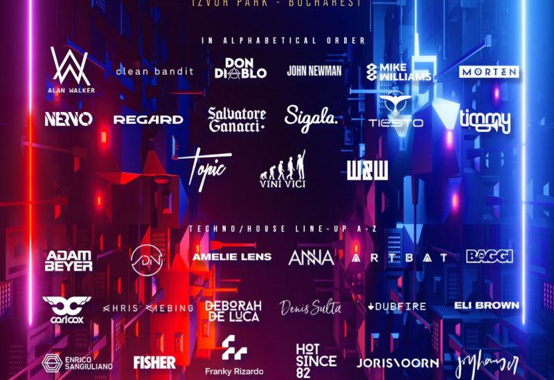 SAGA Festival Bucharest 2021 - Lineup