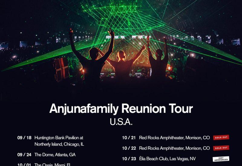Above & Beyond - Anjunafamily Reunion Tour