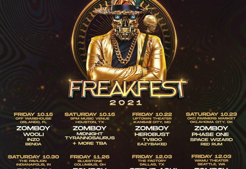 Freakfest Tour 2021