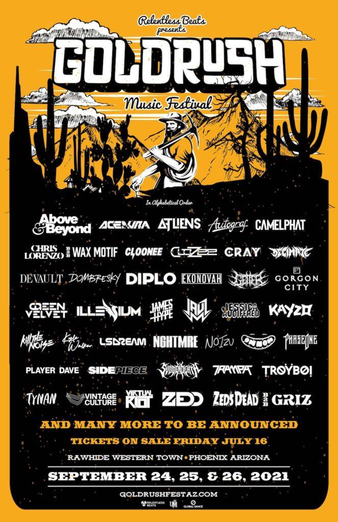Goldrush Music Festival 2021 Lineup