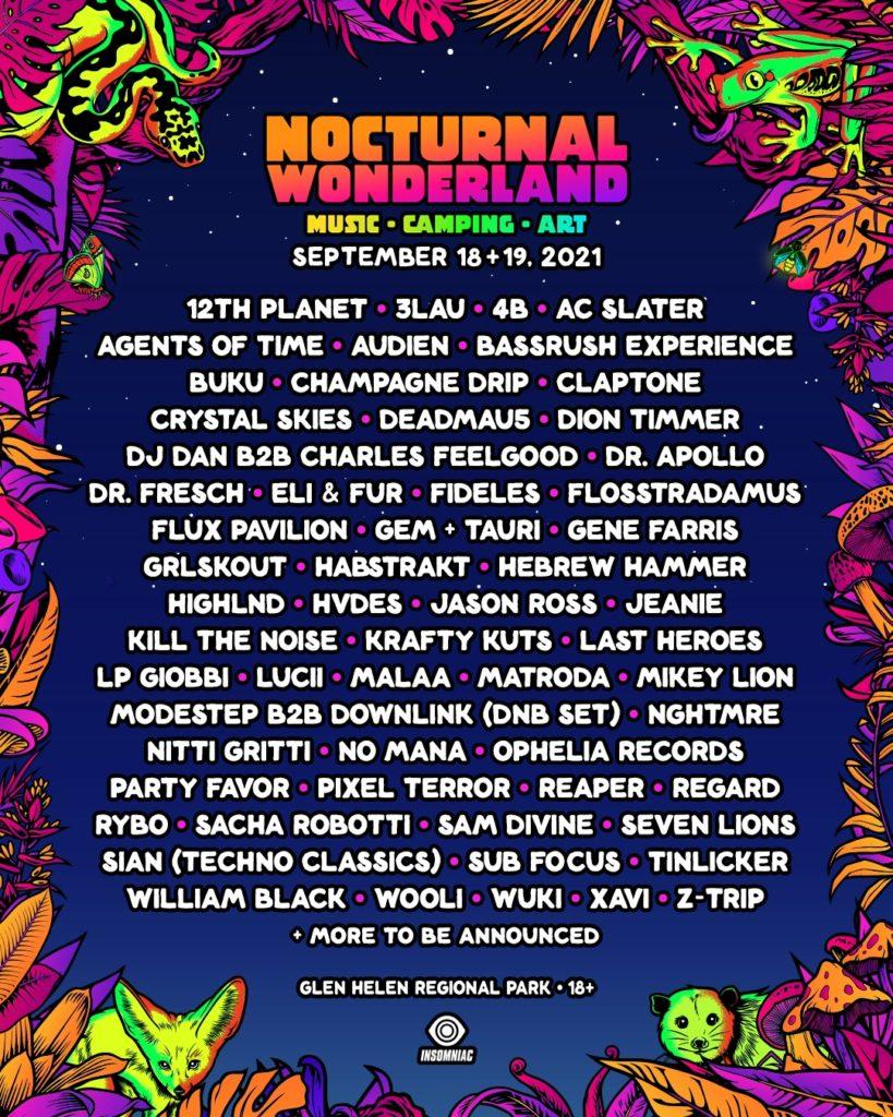 Nocturnal Wonderland 2021