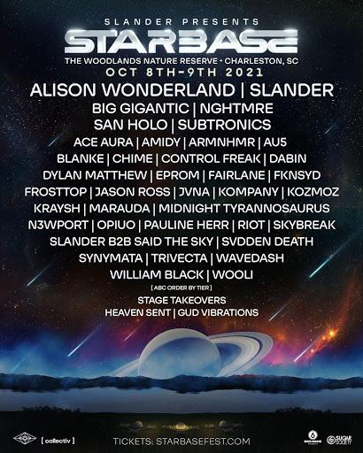 Starbase Music Festival 2021 Lineup
