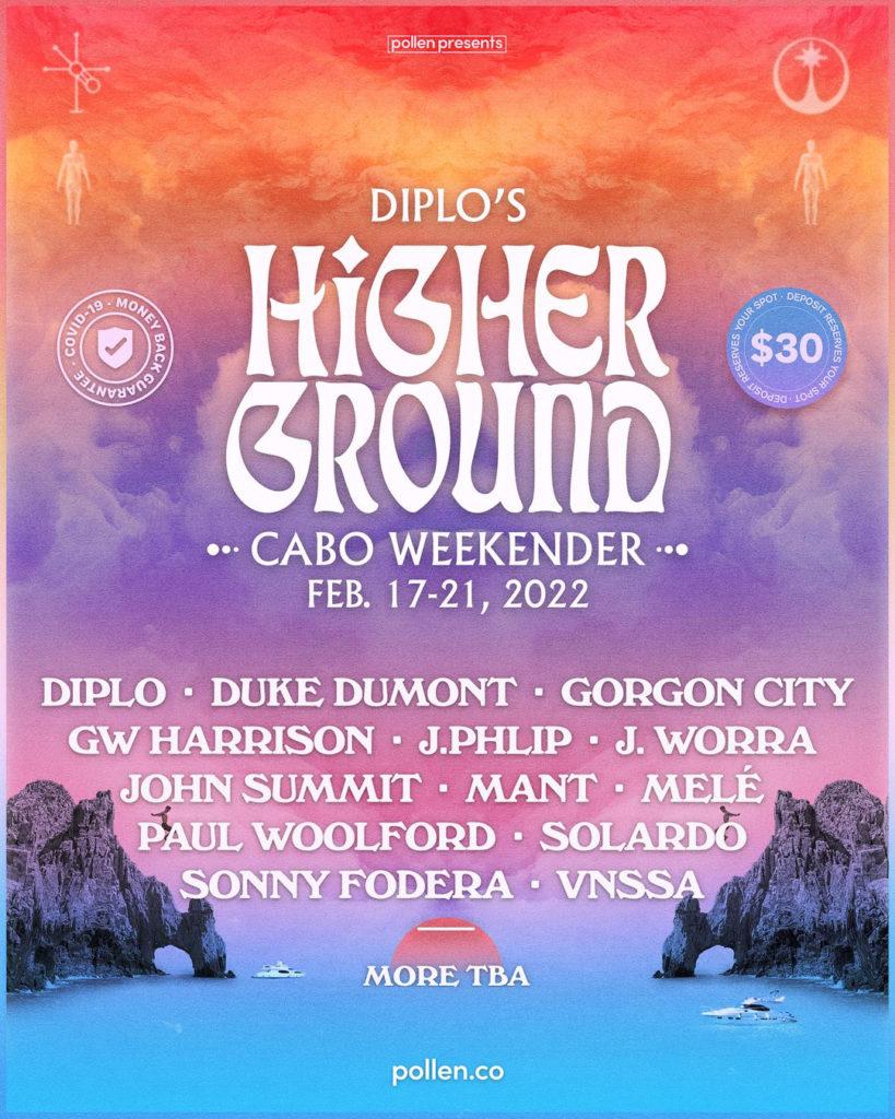 Diplo's Higher Ground Cabo Weekender