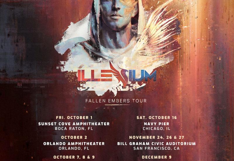 Illenium Fallen Embers Tour